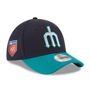 Seattle Mariners New Era Blue 2018 Training Hat